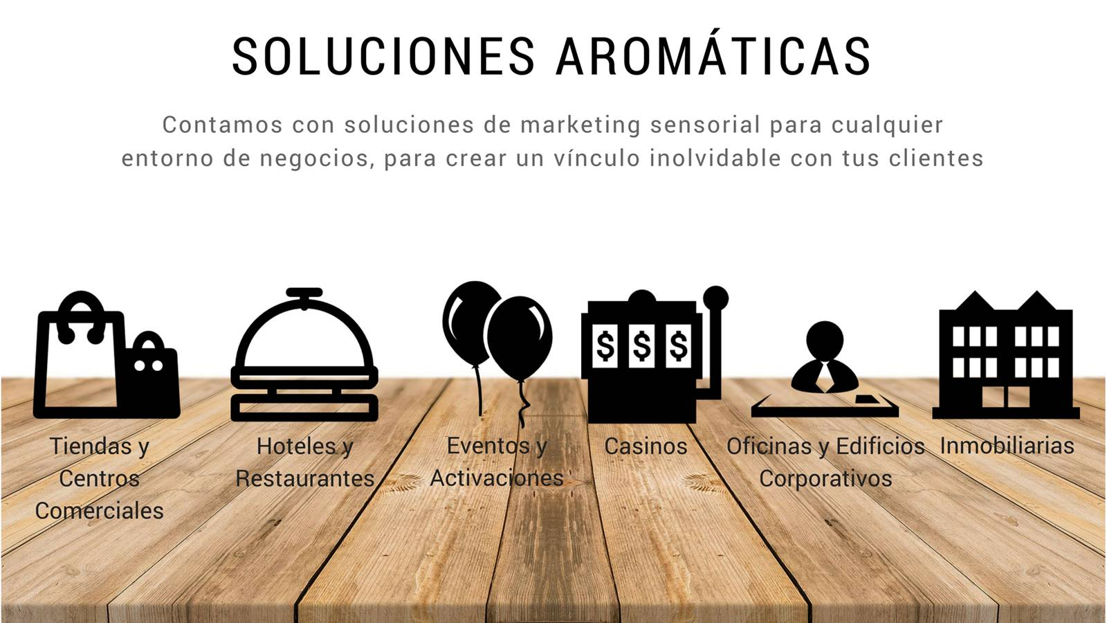 soluciones aromaticas para empresas